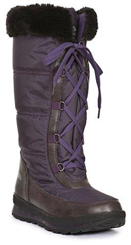 Trespass Kalinda, Botines para Mujer Purple (Blackcurrant)