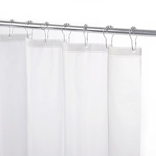 KENNEY Lightweight Peva Shower Curtain Liner, 70 by 72-In...
