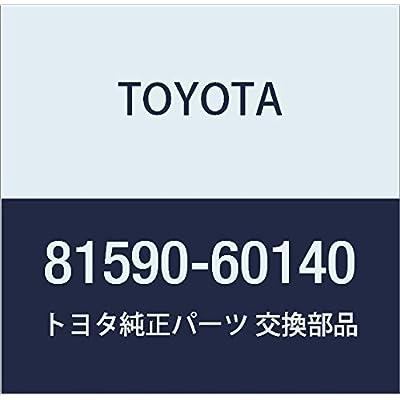 TOYOTA 81590-60140 Reflector Assembly: Automotive