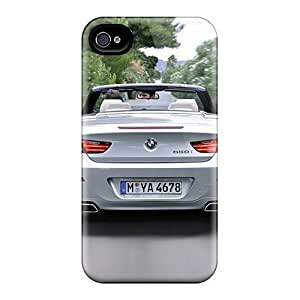 LatonyaSBlack Perfect Tpu Case For Iphone 4/4s/ Anti-scratch Protector Case (new Bmw 6 Conv)