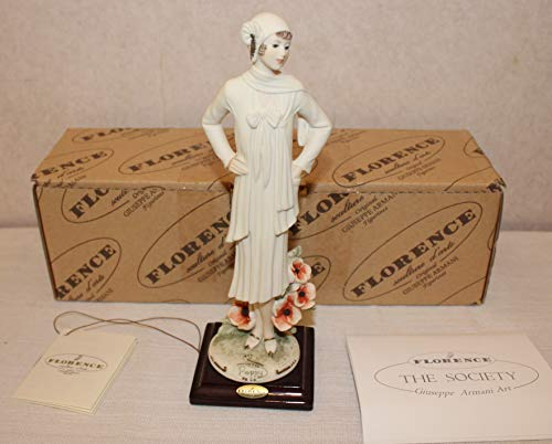 Giuseppe Armani Poppy Figurine - Lady with Flowers Florence - 1246F
