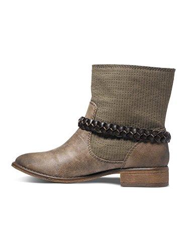 Bottes Femme Boot Roxy J Skye Marron wq6xvt