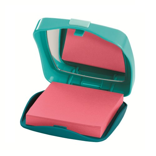 Post-it Pop-up Notes Dispenser for 3 x 3-Inch Notes, Note Compact for the Purse - Notes Alternating