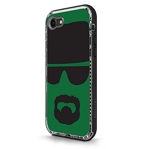 Skin for LifeProof NËXT iPhone 8 / iPhone 7 - Breaking Badass| MightySkins Protective, Durable, and Unique Vinyl Decal wrap cover | Easy To Apply, Remove, and Change Styles | - Cheap Sunglasses Silhouette
