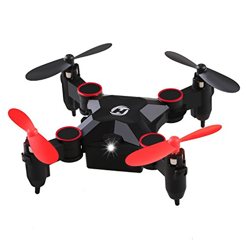 Holy Stone HS190 Foldable Mini RC Drone 2.4Ghz 6-Axis gyro Nano Quadcopter...