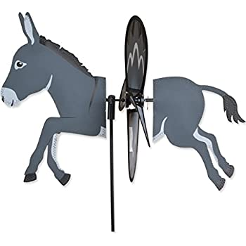 Amazon.com: Donkey Mule Burro Círculo Swirly metal Wind ...