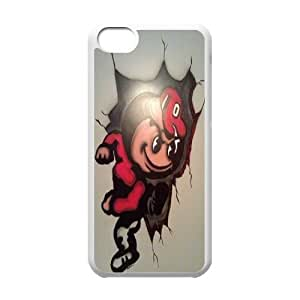 Customized Sport Phone Case Ohio State Buckeyes For iPhone 5C Q5A2113268