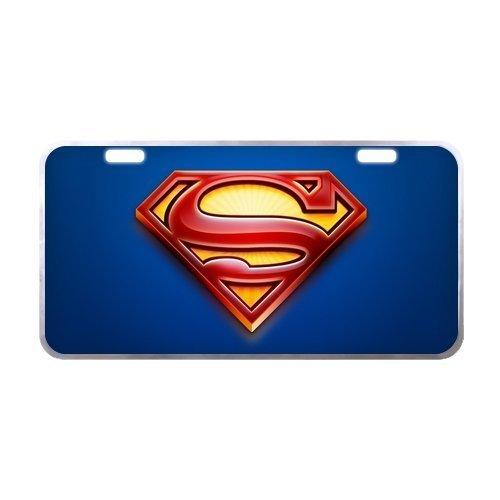 (Superman Logo Metal Tag License Plate)