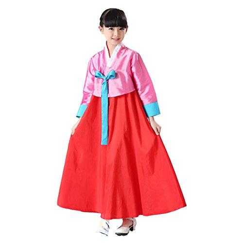 Korean Costume For Girl Kids (Ez-sofei Girls Korean Traditional Costume Hanbok)