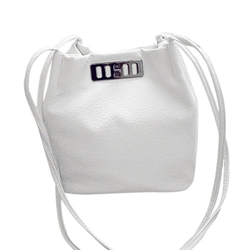 Grande Plateado Piel de Mujer Bolso ESAILQ hombro Bolsa para por Beige de Bandolera D Shoppers y qEXYw0
