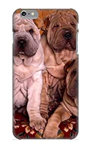 Ajtzey-5754-bdivpjr Anti-scratch Case Cover Elizabethshelly Protective Animal Shar Pei Puppy Puppys Dog Animal Case For Iphone 6 Plus