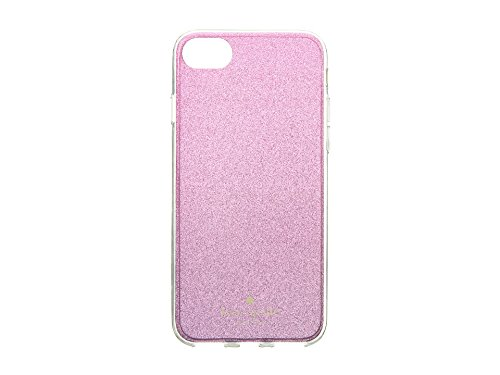 Inch 10 Spade Kate (Kate Spade York Women's Glitter Ombre Phone Case for iPhone 8 Rasberry Multi One Size)