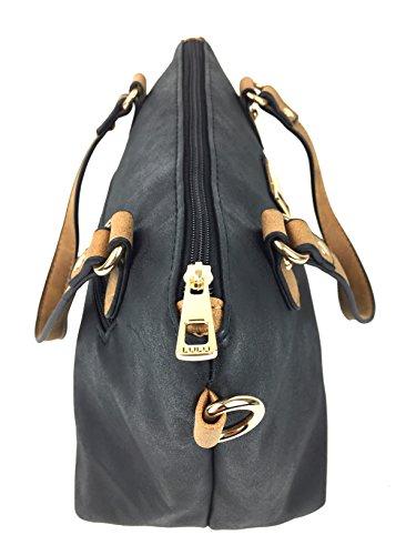 nbsp;» Noir réglable bandoulière Sac de pour simili cuir amovible femme italien « superbe main designer nbsp;Candy à à gpq1wgH8