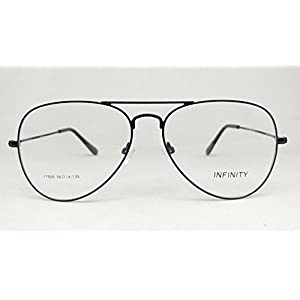 ITY06 Aviator 58mm Photochromic Photogray Progressive Varifocal Multifocal Reading Glasses (Black, +2.75)