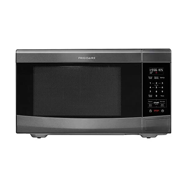 Frigidaire FFCE1638TD 1.6 Cu.Ft. Black Stainless Countertop Microwave 1