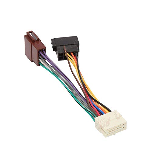 Inex Clarion PIN Car Stereo Radio ISO Wiring Harness Connector Adaptor Loom Cable: