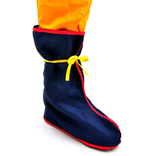 Dragon Ball Son Gokus Overshoes Japanese Anime cosplay accessories (Blue, General) -