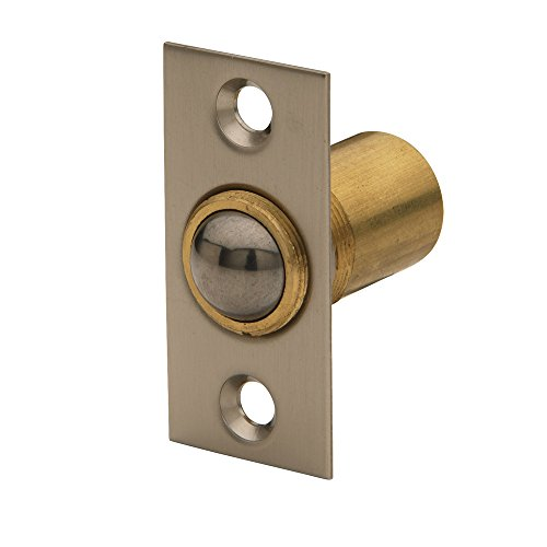 Baldwin Estate 0426.150 Solid Brass Adjustable Ball Catch in Satin Nickel, ()