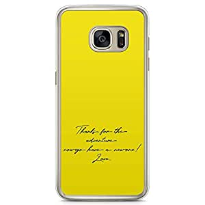 Loud Universe Love Quote movie Up Samsung S7 Case Up The movie Poster Samsung S7 Cover with Transparent Edges