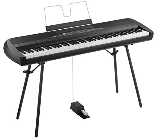Korg SP280BK 88-Key Digital Piano with Speaker