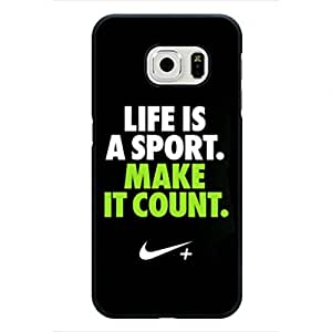Just Do It Phone Case Nike Smartphone Cover Case, Samsung Galaxy S6 Edge Case, New Nike Phone Case Personalized Cover