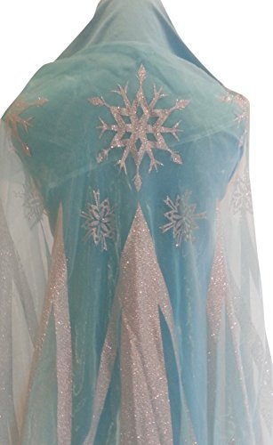 Fabric Panel to Make Your Own Cape (Ice Queen Costume Frozen)