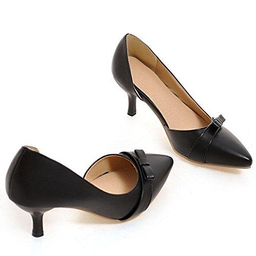 De Femmes Talons Sur Pompes Noires Glissement Razamaza Chaussures Mode D'orsay Les La n0EEOrHW