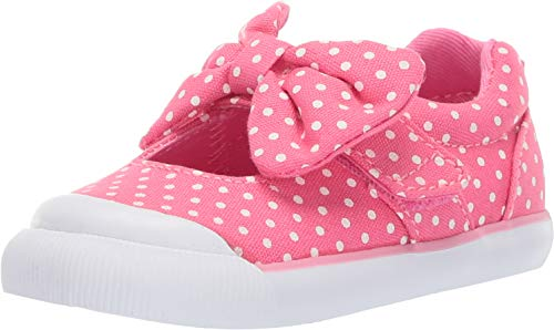 Stride Rite Rosalie Girl's Casual Sneaker, Pink, 4 W US Toddler