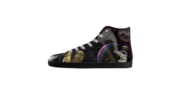 Custom Mens Fashion DIY Image Sloth Animal New Sneaker Canvas Shoes