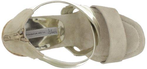 Tosca Blu Ss1310s181 Damen Sandalen Beige - Beige (C04O Sabbia/Oro)
