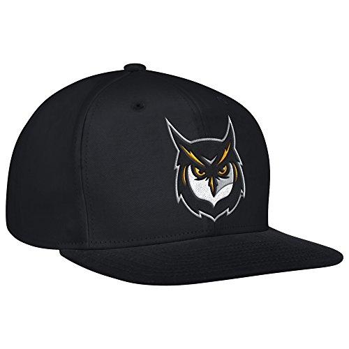 NCAA Kennesaw State Owls Men's Flat Brim Snapback Cap, One (Licensed Ncaa College Cap Hat)