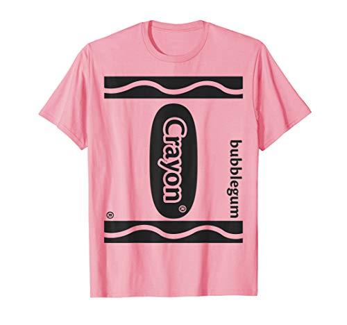 Bubblegum Pink Crayon T-Shirt
