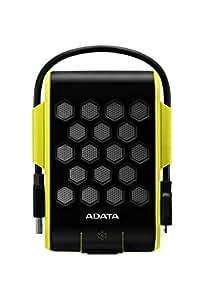 Adata ACCDAT1320 Disco Duro Externo HD720, 1000 GB, USB 3.1 (USB 2.0), color Negro/Amarillo