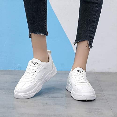 HBVOMWSX Kleine weiße Schuhe Damen Herbst und Winter