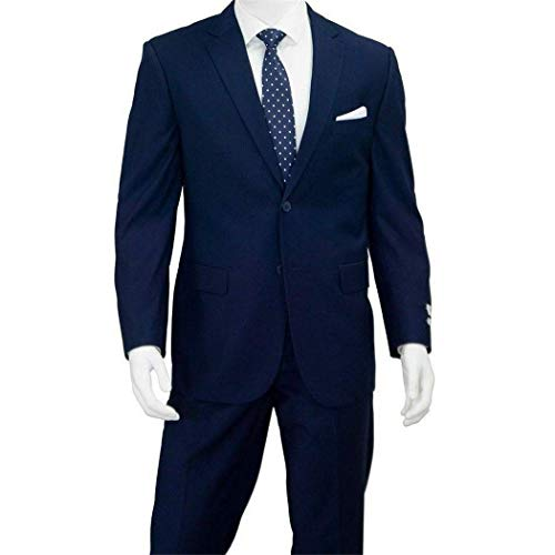 ton Classic Fit Suit New with Notch Lapels(52L/46W) ()