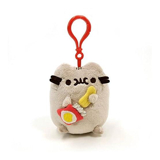 Pusheen Food Plush   Bag Keychain Clip - 5 Inch 2