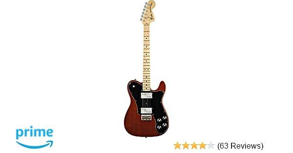 0e770282931 Amazon.com: Fender Classic Series '72 Telecaster Deluxe Electric Guitar,  Walnut, Maple Fretboard: Musical Instruments