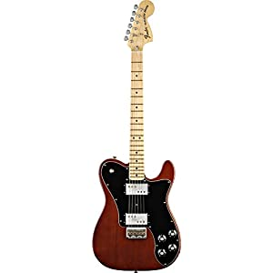 Fender 0137702392 Classic Series '72 Telecaster Deluxe Maple Fingerboard Electric Guitar – Walnut
