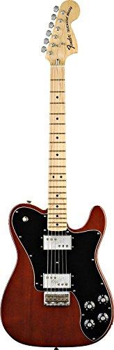 Maple Walnut Knobs - Fender Classic Series '72 Telecaster Deluxe Electric Guitar, Walnut, Maple Fretboard
