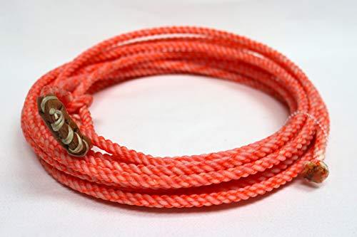 mroyalsaddles.com 20 FT Pink Rodeo Kids Lasso Rope Nylon Trick Rope (Kid Trick Rope)