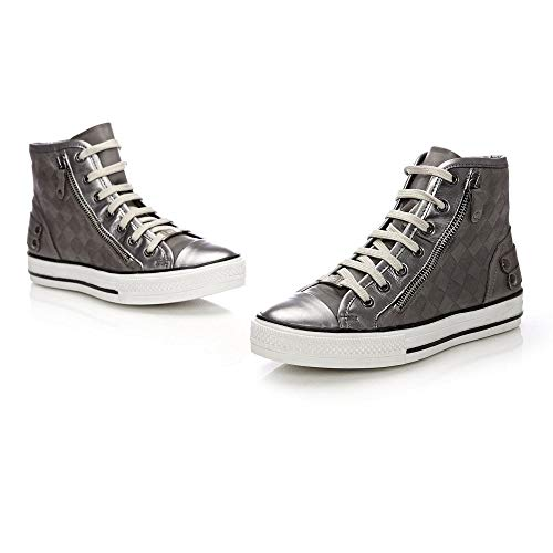 Moda For Women Shovel Silver Fashion In Silver Sneakers rqUBrg