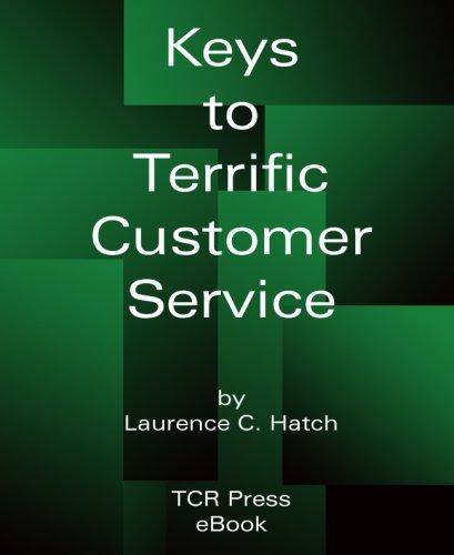 Keys to Terrific Customer Service Pdf