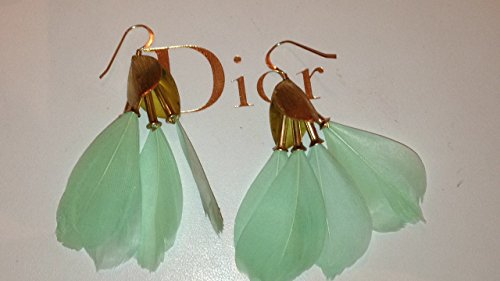 anthropologie-gold-turquoise-color-feather-earrings