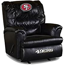 Imperial Officially Licensed NFL Furniture: Big Daddy Leather Rocker Recliner