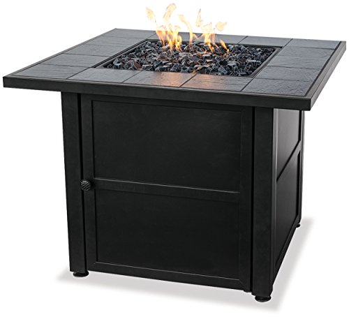 (Endless Summer, GAD1399SP, LP Gas Outdoor Fire Bowl with Slate Tile Mantel)