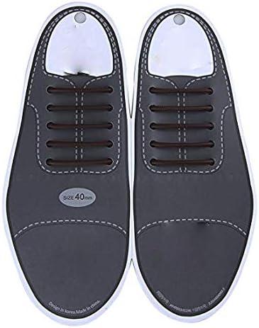 ブーツ用結ばない靴ひも ゴム製で防水 カジュアルシューズ、大人の革靴などに専用 ビジネス、就職などの場にもしっかり良い格好を守れるくつひも