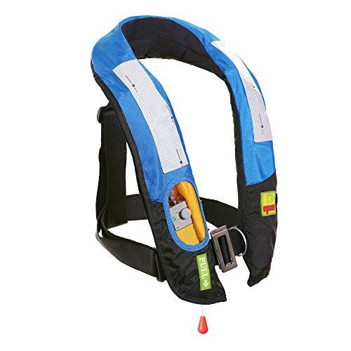 Eyson Slim Inflatable PFD Life Jacket Life Vest Adult Manual (ES639717 Blue)