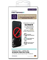 $33 » QMADIX Invisible First Defense NanoGlass Screen Protector with up to $350 USD Screen Protection All Phones Tablets Smart Watches Apple Samsung iPhone iPad Galaxy and Universal