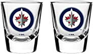 NHL Winnipeg Jets Shot Glass, 2-Pack
