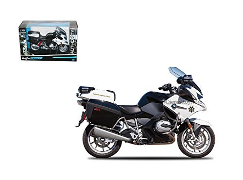 MAISTO 1:18 AUTHORITY: POLICE MOTORCYCLES - BMW R 1200 RT - CALIFORNIA HIGHWAY PATROL (CHP) (Maisto Motorcycle Models)